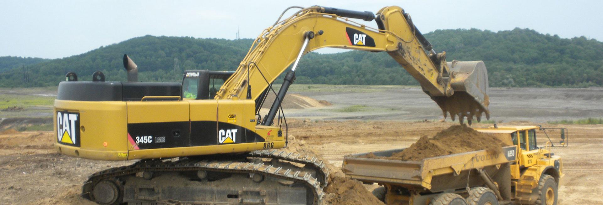 sibymining excavation work